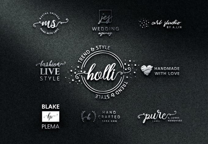 design elegant vintage logo
