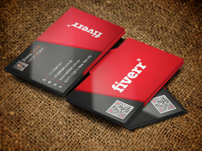 design 4 different business card within 3 hours