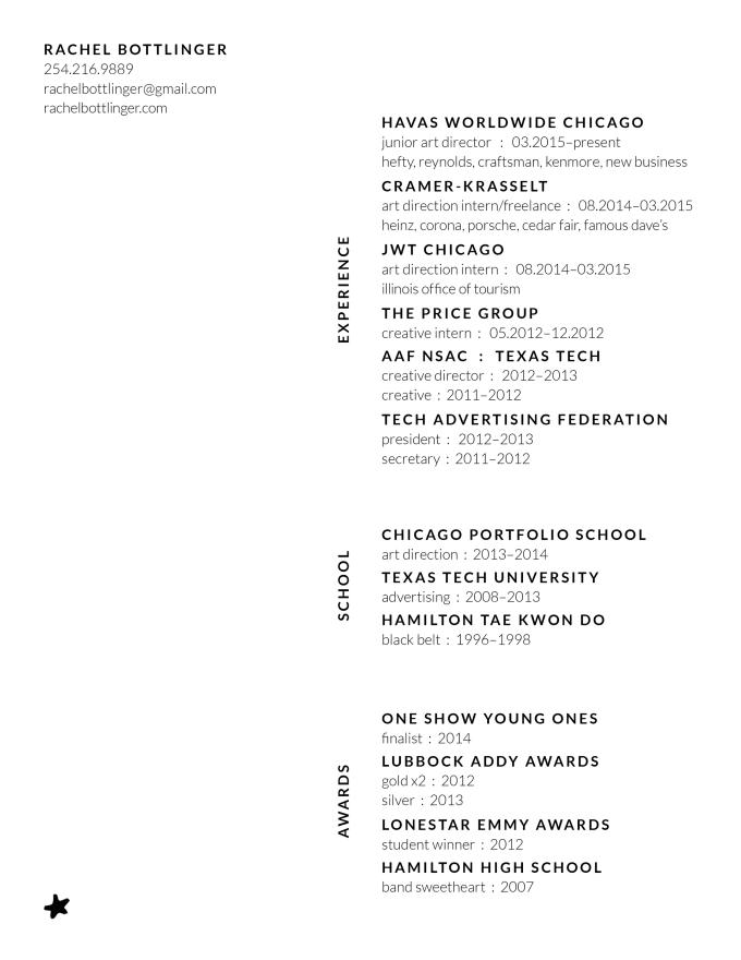 edit and design your resume by rbottlinger