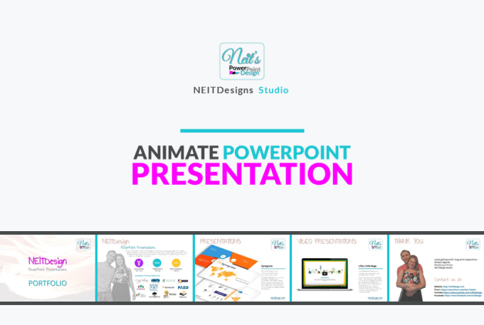 make professional animation for powerpoint presentation by neit linkoln