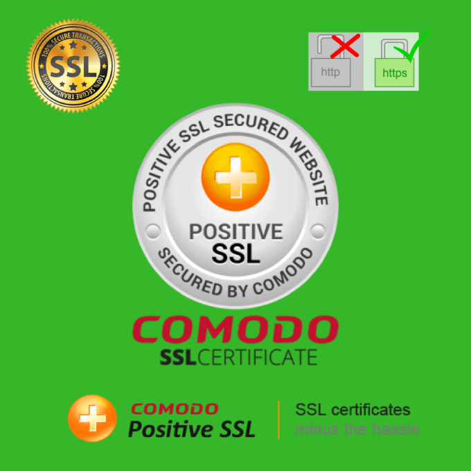 Secure your website with comodo positive ssl certificate by Codecook