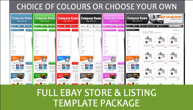 Design amazing ebay store template and html email template by ...