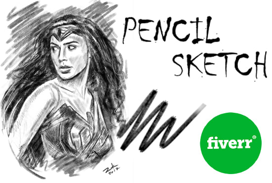 sketch a professional drawing of you