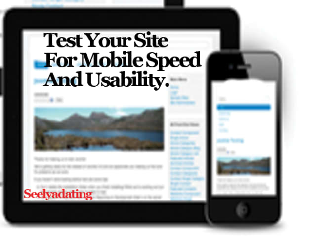 test your website for mobile speed and usability