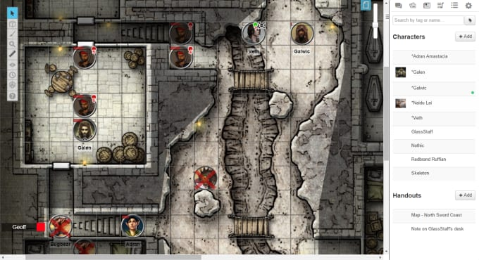 madnick21 : I will introduce you to Roll 20 or Fantasy Grounds for $10 on  www fiverr com