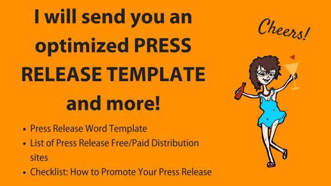 send you an optimized press release template and more by teresa digital