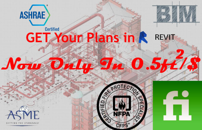 do hvac, piping, electrical and fire protection in revit mep
