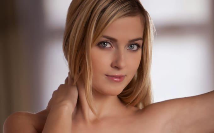 Blonde gal lesbian pantyhose sex is