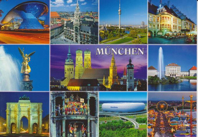 Картинку, мюнхен открытка
