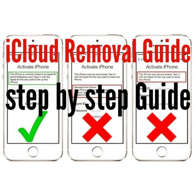 entrepreneur_1 : I will show you how to remove icloud from clean device  step by step guide for $65 on www fiverr com