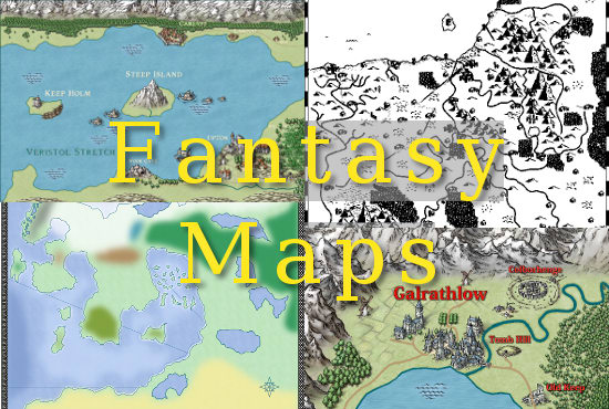 How To Create A Fictional World Map.Make A Wonderful Custom Fantasy Map For Your Fictional World By Dhknarr