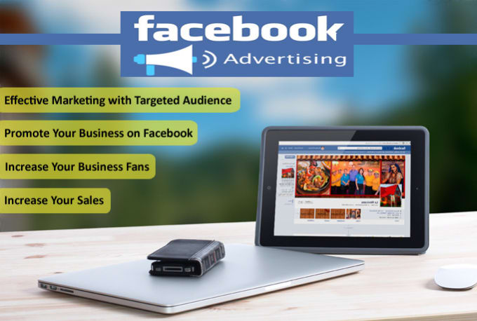 do facebook advertising for your website, fan page, business