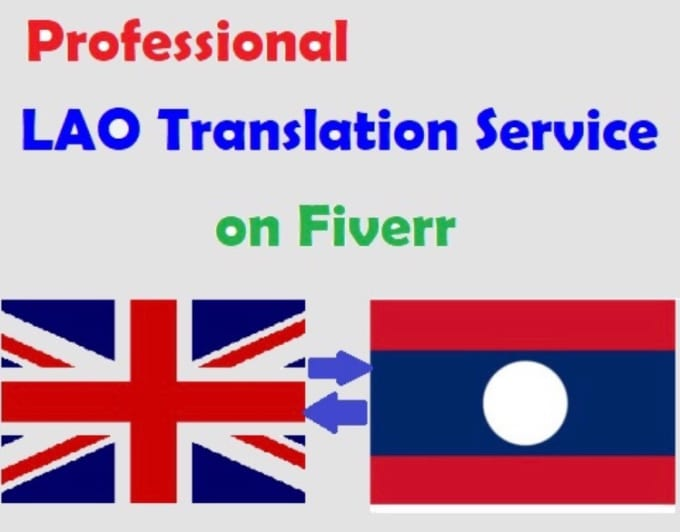 translate anything english to lao