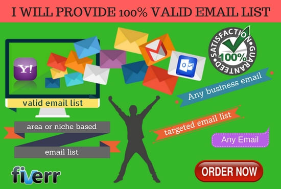 buy targeted email list