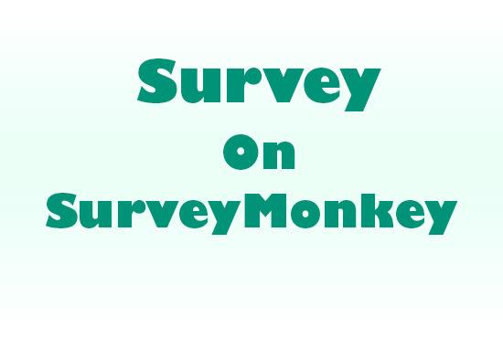 create survey on survey monkey