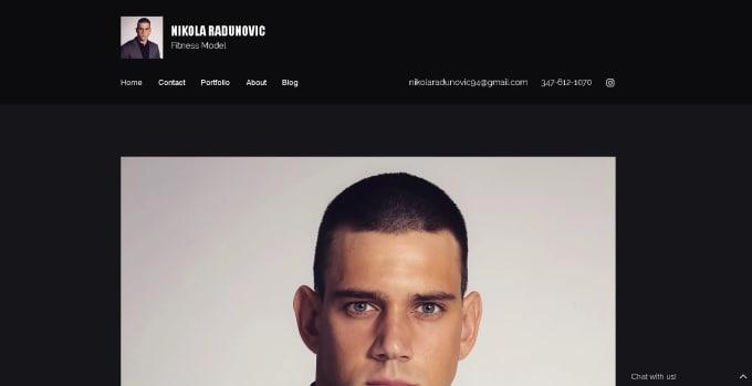 design stunning website from wix