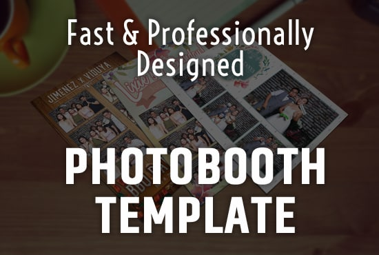 Design a photo booth template with free psd in 24 hours by Ian_jimenez