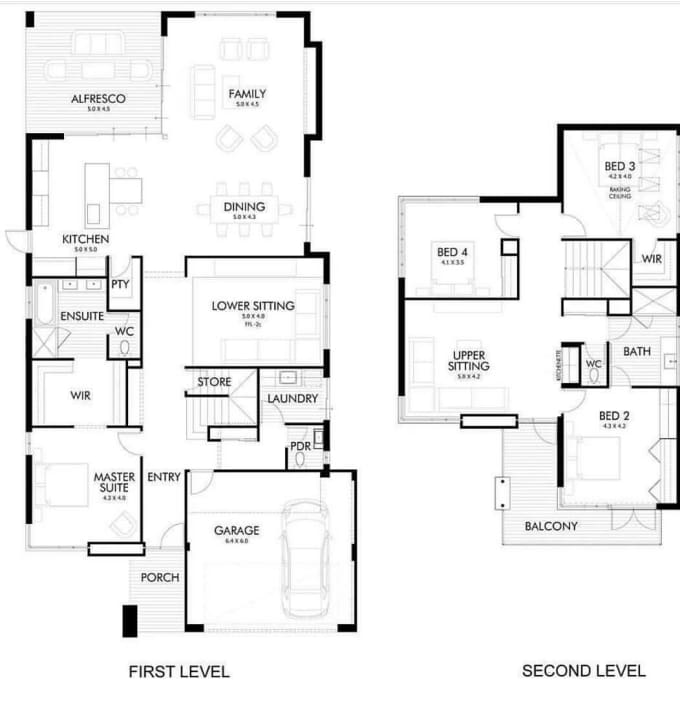 Draw And Design Architectural Floor Plans Autocad Archicad By