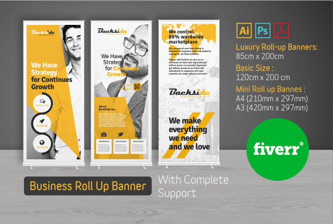 Professional Design Banners Document Banners
