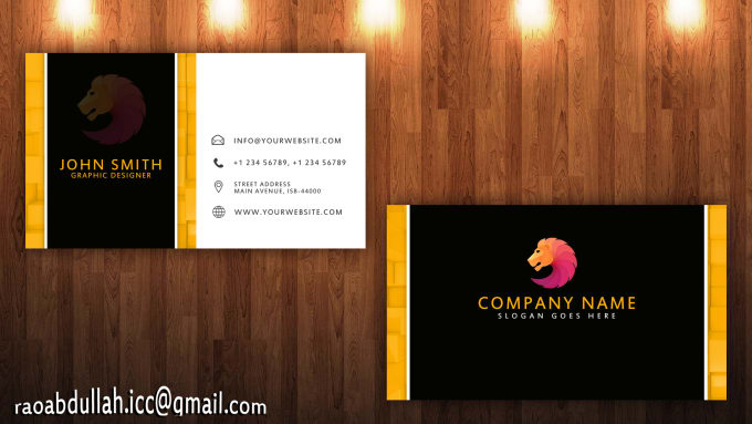 Design very creative business cards by raoabdullah007 design very creative business cards reheart Images