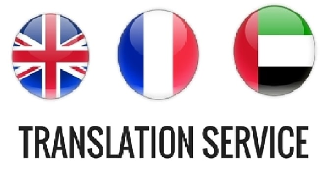 translation between arabic,english and french perfectly