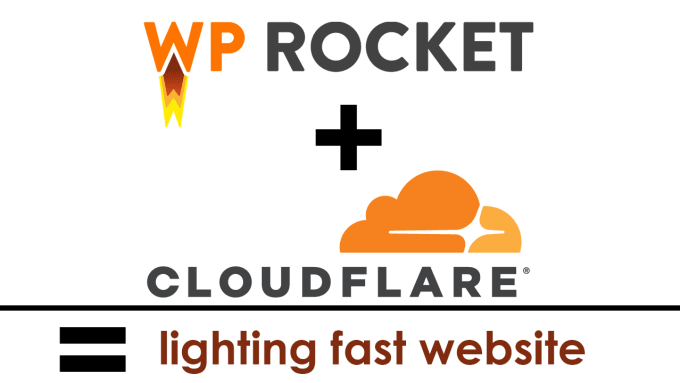 I will setup wp rocket with cloudflare CDN to speed up and secure your wordpress blog