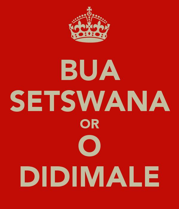 translate english to setswana
