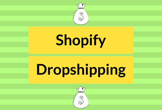 create a winning dropship shopify store for you to start making money