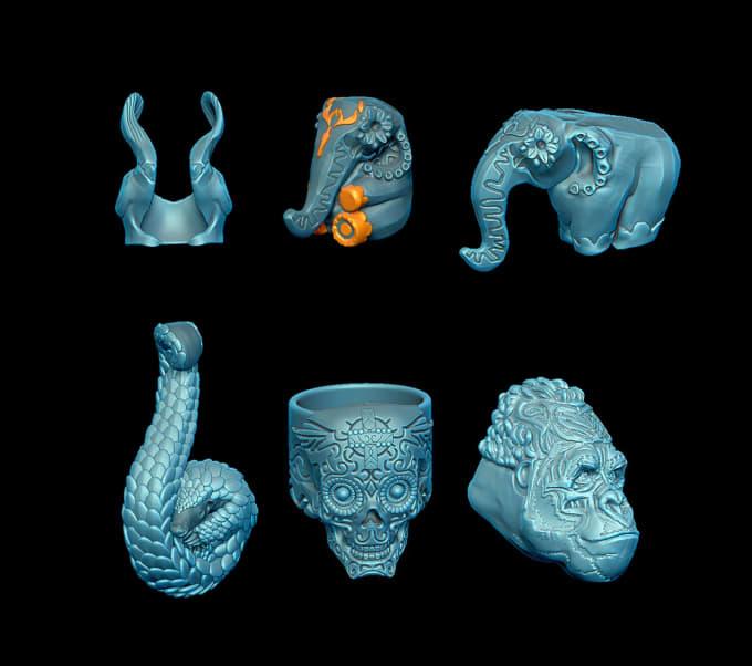 3d Design Jewelry Cad Model By Alexandertim