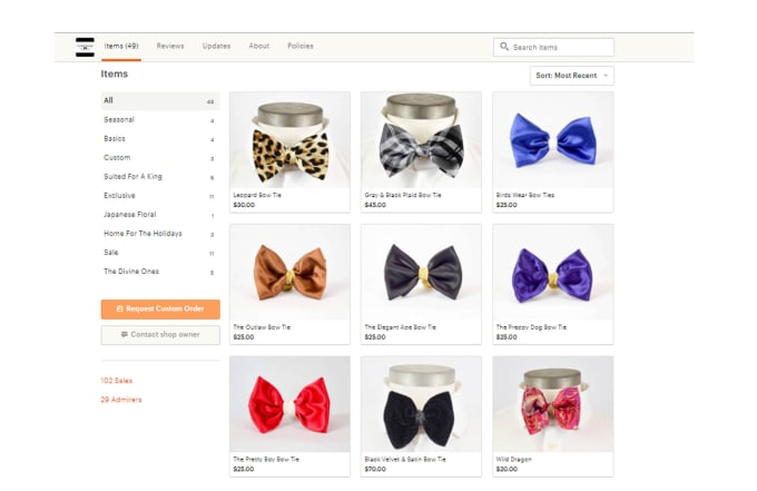 build and design your etsy and shopify store