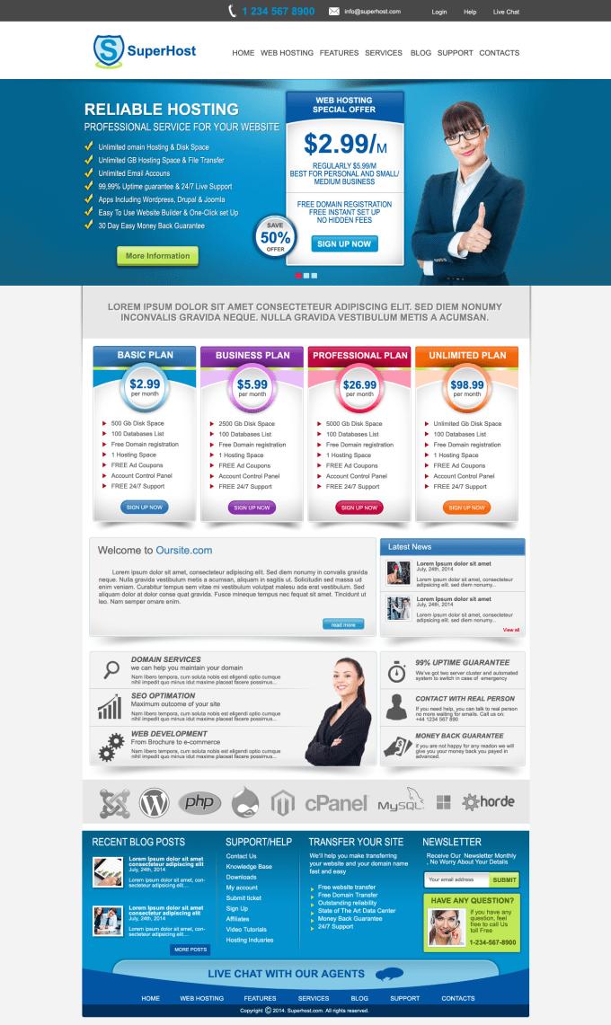 Create homepage website design template on elegant flat 3d by neo010 create homepage website design template on elegant flat 3d maxwellsz