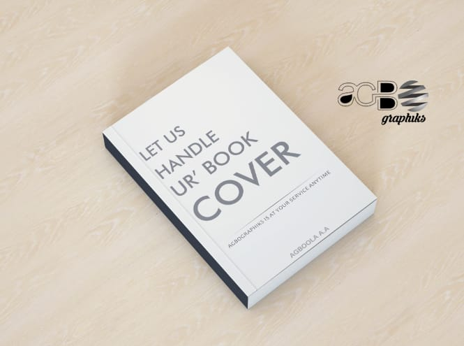 design a nice book cover for you