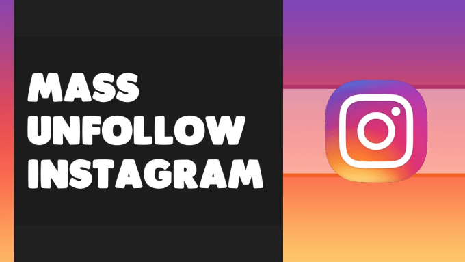 clean your instagram following list