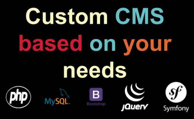 build custom cms based on your needs