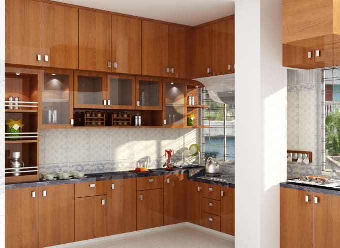 mdrahmanbd2017 : I will make luxurious 3d interior kitchen cabinet design,  3d modeling, vray rendering for $20 on www fiverr com