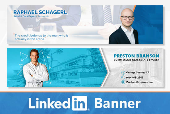Design A Professional Linkedin Banner In 24hrs