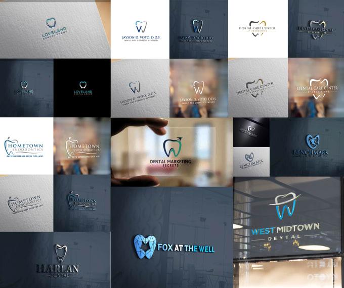 do a professional dental logo design