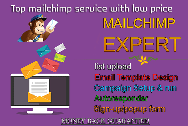 Create Mailchimp Template Mailchimp Campaign For You By Mcexpert - Mailchimp create template from campaign