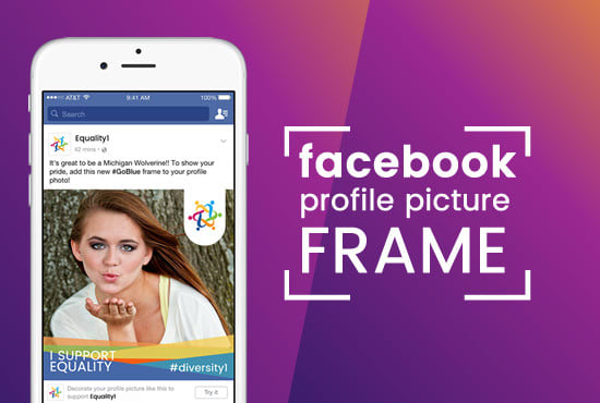 Design Your Facebook Profile Picture Frame By Aylansemesta