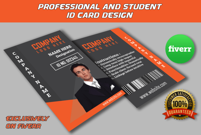 Help Identifying You With My Unique Id Card Design By Bappasharma94