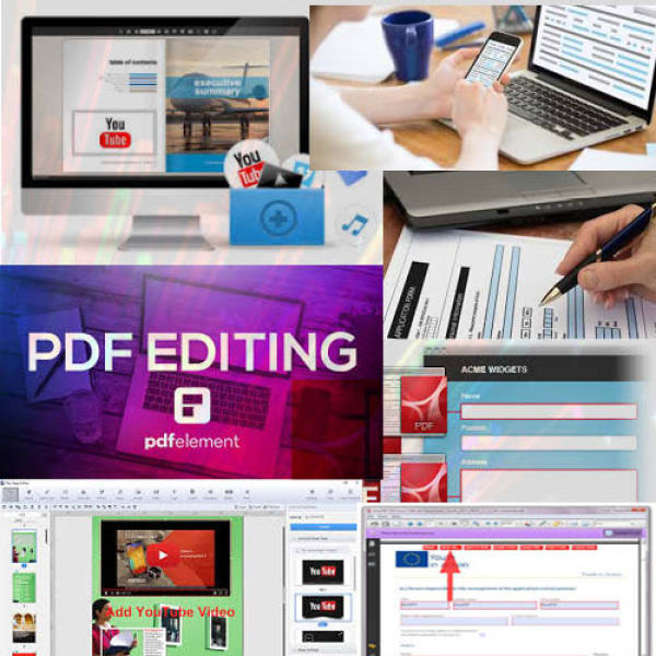 create fillable pdf, make it interactive in indesign