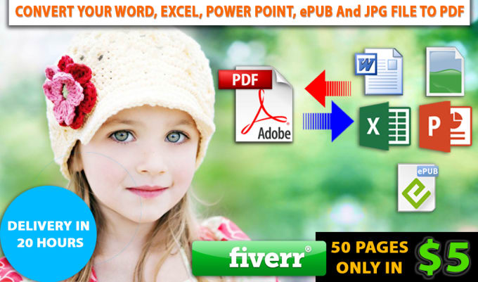 convert 50 page PDF to word image to text