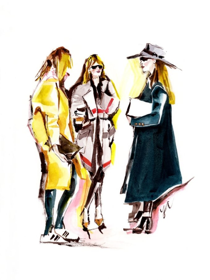 draw a fashion illustration from your photo