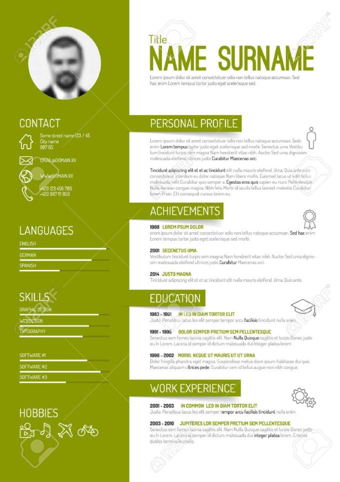 make you a professional CV