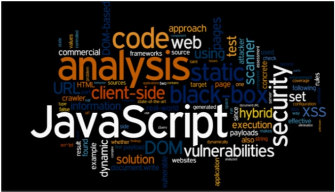 write any type of javascript code and integrate js libraries