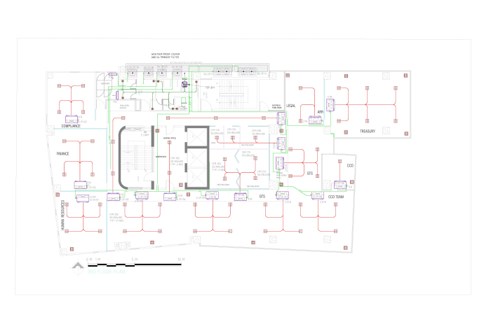 Hvac Project In Autocad