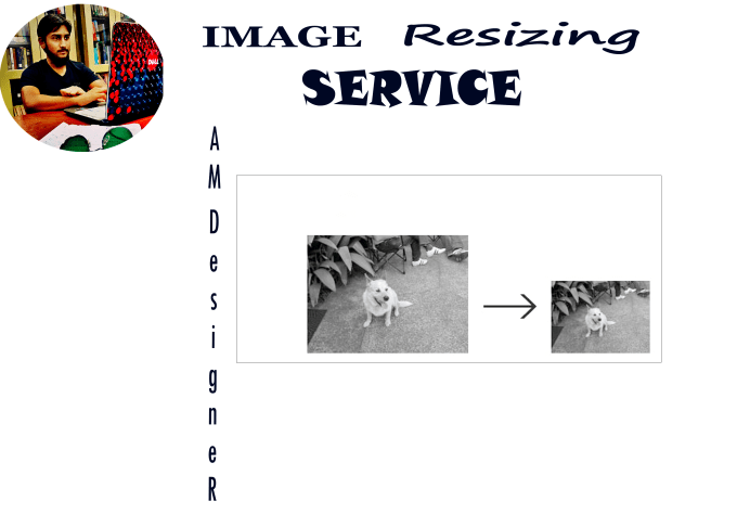 resize images without affecting the quality
