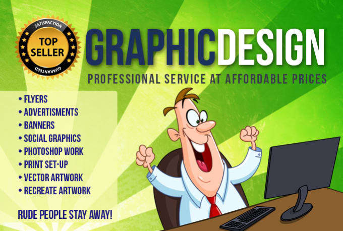 work on logo, fb cover, flyer, cards, professional graphic design in 10 hrs