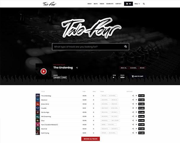 design a custom beatstars page