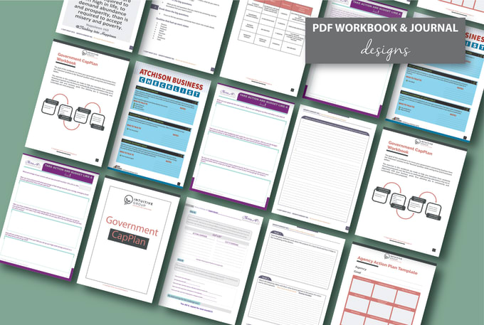 design any type of workbook and journal